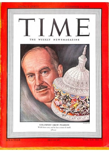 Cover Print of Time, December 13 1948