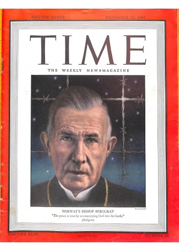 Cover Print of Time, December 25 1944