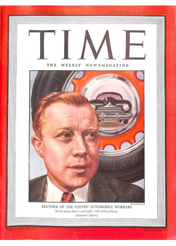 Cover Print of Time, December 3 1945