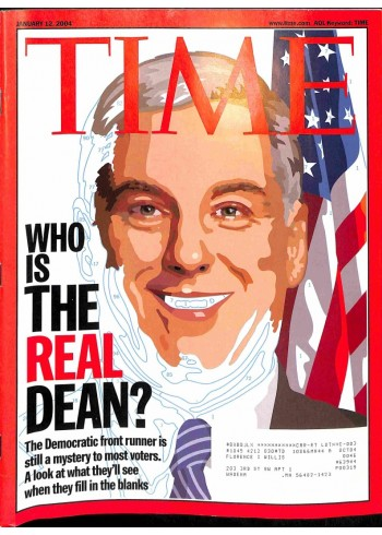 Cover Print of Time, January 12 2004
