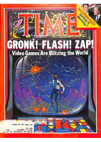 Cover Print of Time, January 18 1982