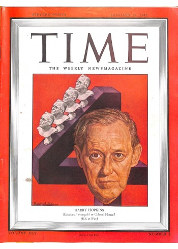 Cover Print of Time, January 22 1945