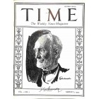 Cover Print of Time, January 3 1923