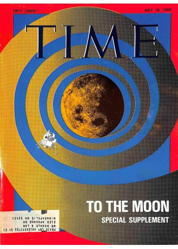 Cover Print of Time, July 18 1969