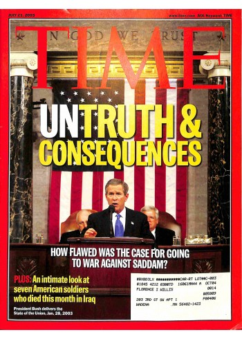 Time, July 21 2003
