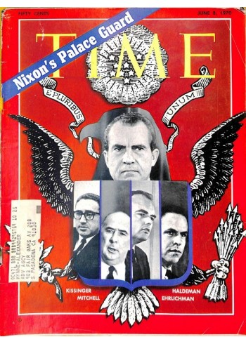 Cover Print of Time, June 8 1970