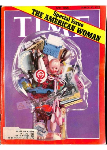 Cover Print of Time, March 20 1972