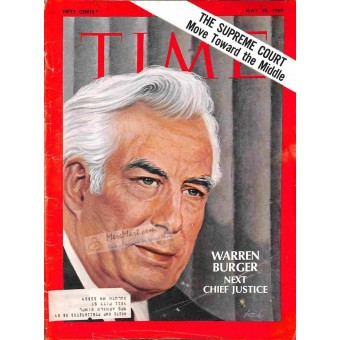 Cover Print of Time, May 30 1969