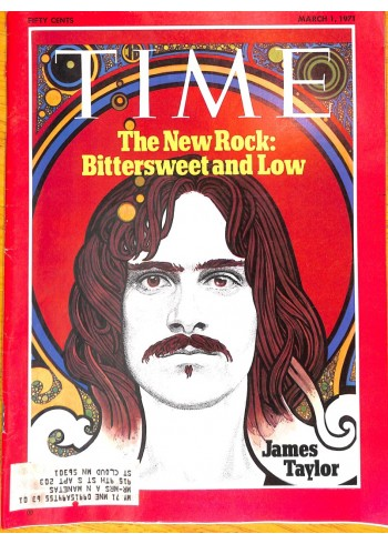 Cover Print of Time, March 1 1971