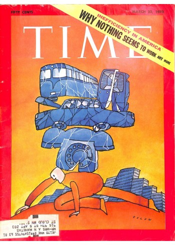 Cover Print of Time, March 23 1970