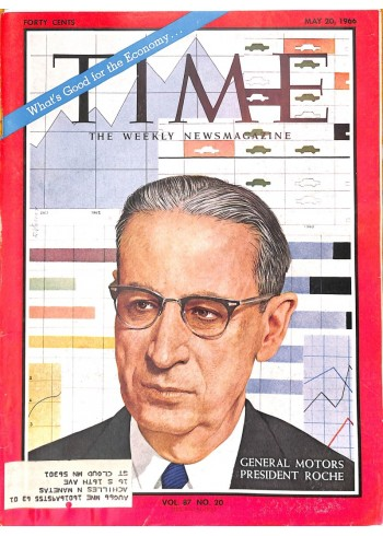 Cover Print of Time, May 20 1966