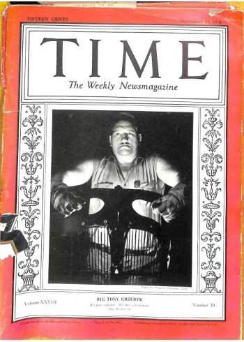 Time, November 16 1936