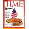 Cover Print of Time, November 19 2001