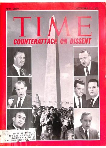 Cover Print of Time, November 21 1969