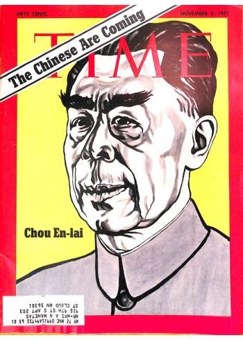 Cover Print of Time, November 8 1971