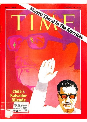 Cover Print of Time, October 19 1970