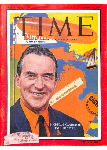 Time, October 24 1960