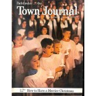 Cover Print of Town Journal, December 1954