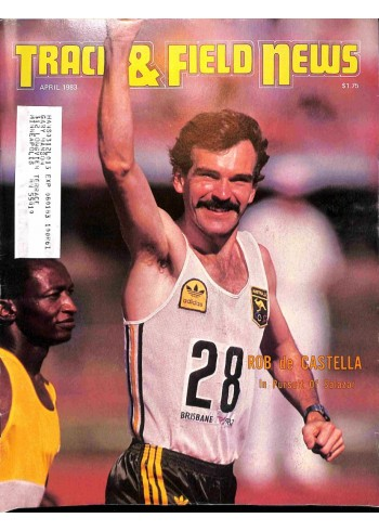Track And Field News, April 1983