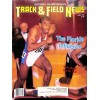 Cover Print of Track And Field News, April 1990
