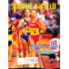 Cover Print of Track And Field News, April 1991