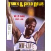 Cover Print of Track And Field News, August 1985