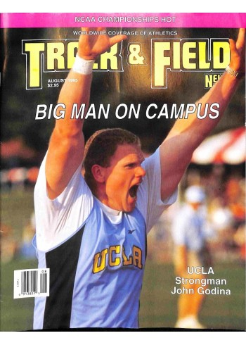Track And Field News, August 1995