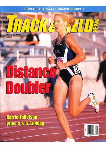 Track And Field News, August 1999