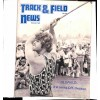 Cover Print of Track And Field News, December 1973