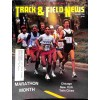 Cover Print of Track And Field News, December 1986