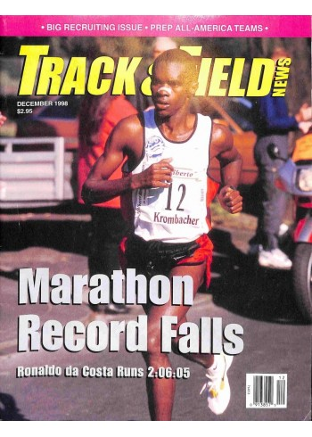 Cover Print of Track And Field News, December 1998