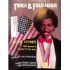 Cover Print of Track And Field News, February 1987