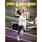 Cover Print of Track And Field News, January 1977