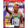 Cover Print of Track And Field News, January 2006