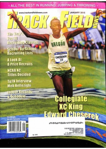 Track And Field News, January 2015