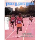 Cover Print of Track And Field News, July 1977