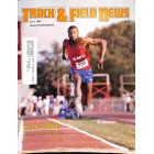 Cover Print of Track And Field News, July 1983