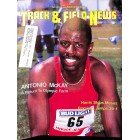 Cover Print of Track And Field News, July 1987