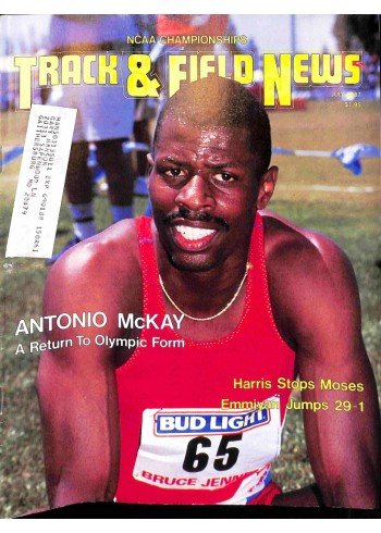Track And Field News, July 1987