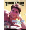 Cover Print of Track And Field News, July 1992