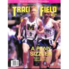 Cover Print of Track And Field News, July 1995