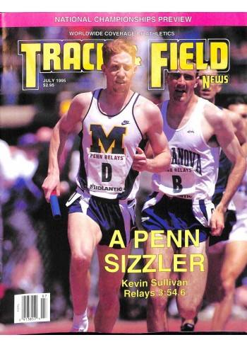 Track And Field News, July 1995