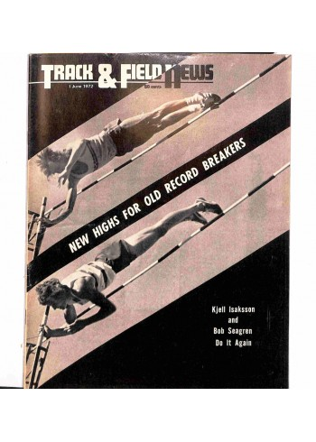 Cover Print of Track And Field News, June 1972