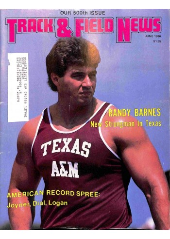 Track And Field News, June 1986