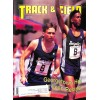 Cover Print of Track And Field News, June 1991