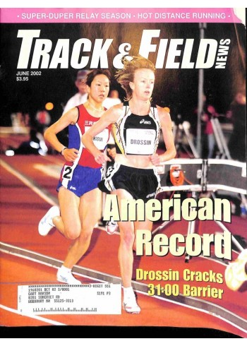 Cover Print of Track And Field News, June 2002