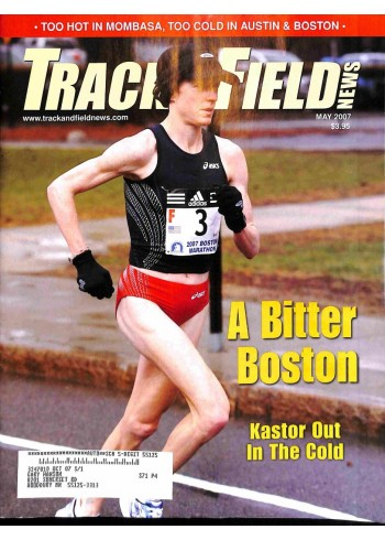 Cover Print of Track And Field News, May 2007