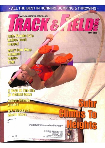 Cover Print of Track And Field News, May 2013