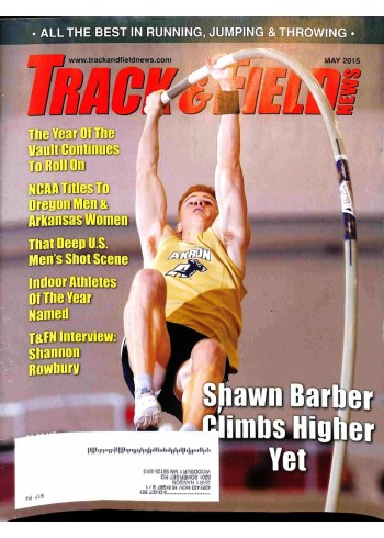 Cover Print of Track And Field News, May 2015