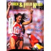 Cover Print of Track And Field News, November 1988